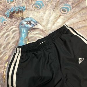 Adidas Black Trackpants Size Small